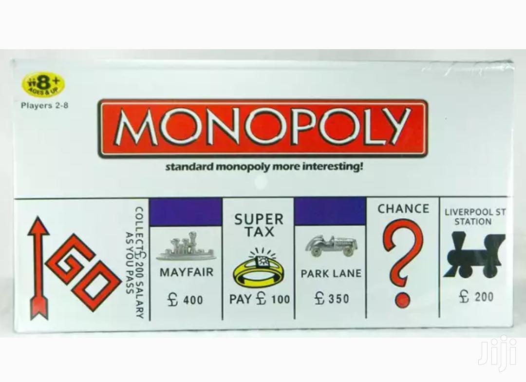 Standard Monopoly Game Board   Books & Games for sale in Kampala, Central Region, Uganda