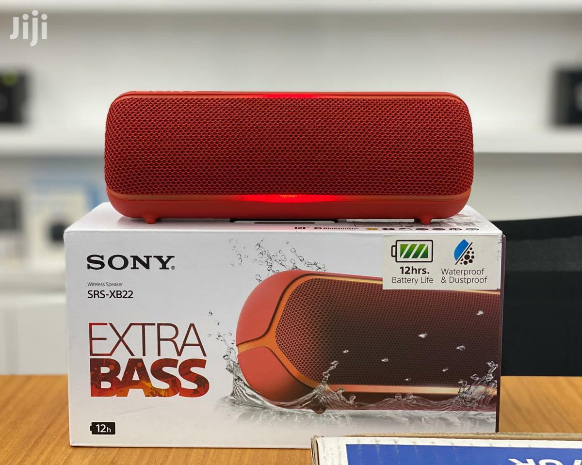 Sony Srs Xb22 Extra Bass Portable Bluetooth Speaker In Kampala Audio Music Equipment Bukenya Elly Jiji Ug For Sale In Kampala Buy Audio Music Equipment From Bukenya Elly On