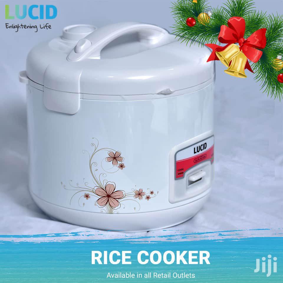 Lucid Rice Cooker 1.8L White | Kitchen Appliances for sale in Kampala, Central Region, Uganda