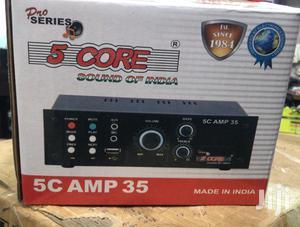 Mini Pro Series 5core Sound Amplifier With Fm