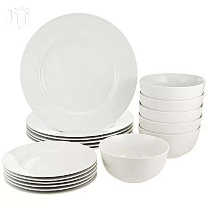 Ceramic Dinner Set Of 6 Dinner Plates 6 Side Plates 6 Bowls 6 Cups