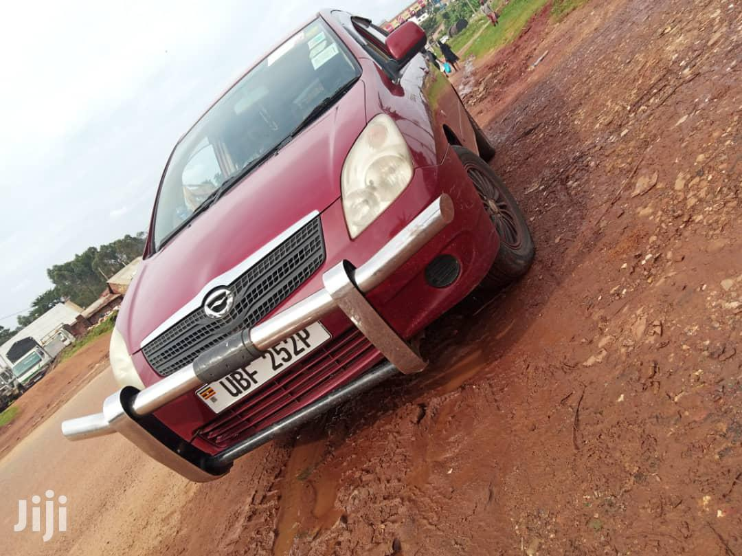Toyota Spacio 2005 Red | Cars for sale in Kampala, Central Region, Uganda