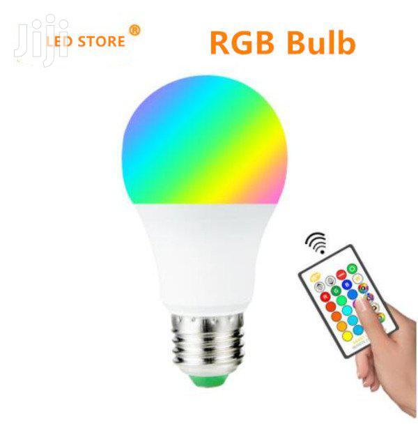 RGB Multicolour LED Bulbs