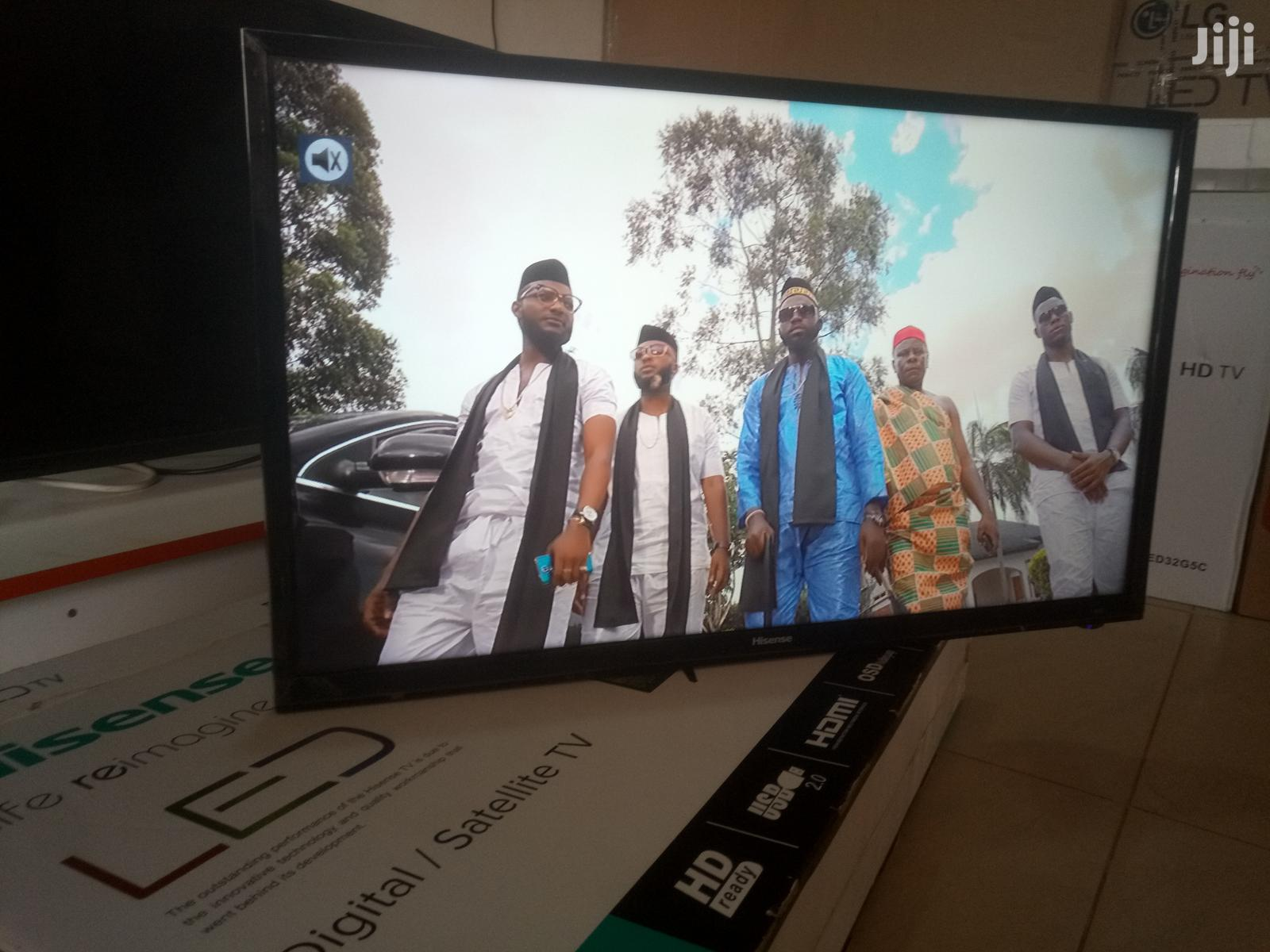 Hisense Digital Satellite TV 32 Inches   TV & DVD Equipment for sale in Kampala, Central Region, Uganda