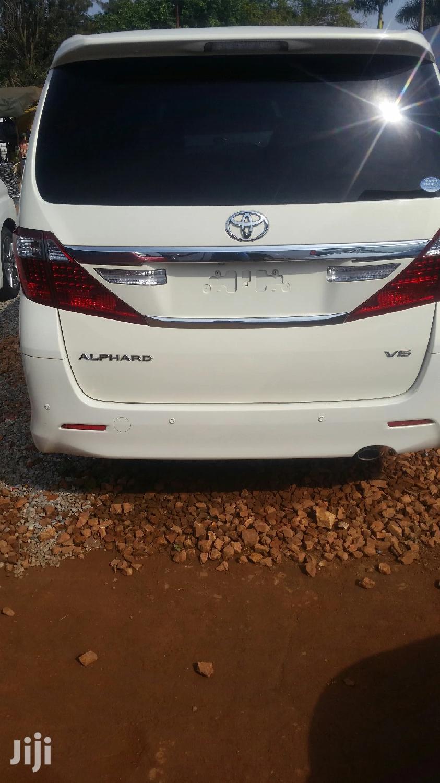 Toyota Alphard 2013 White   Cars for sale in Kampala, Central Region, Uganda