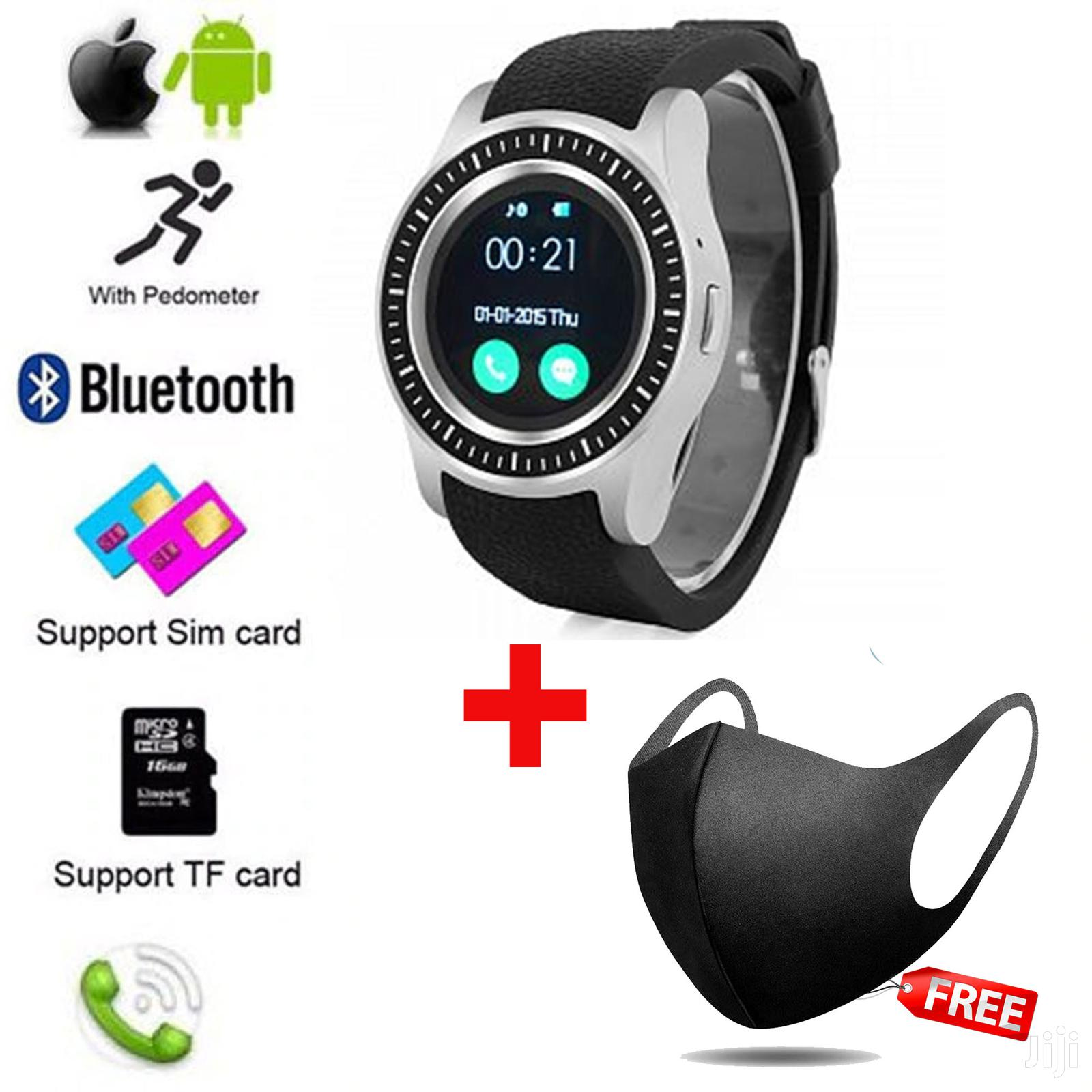 S-series Unisex Bluetooth Touchscreen Smartwatch