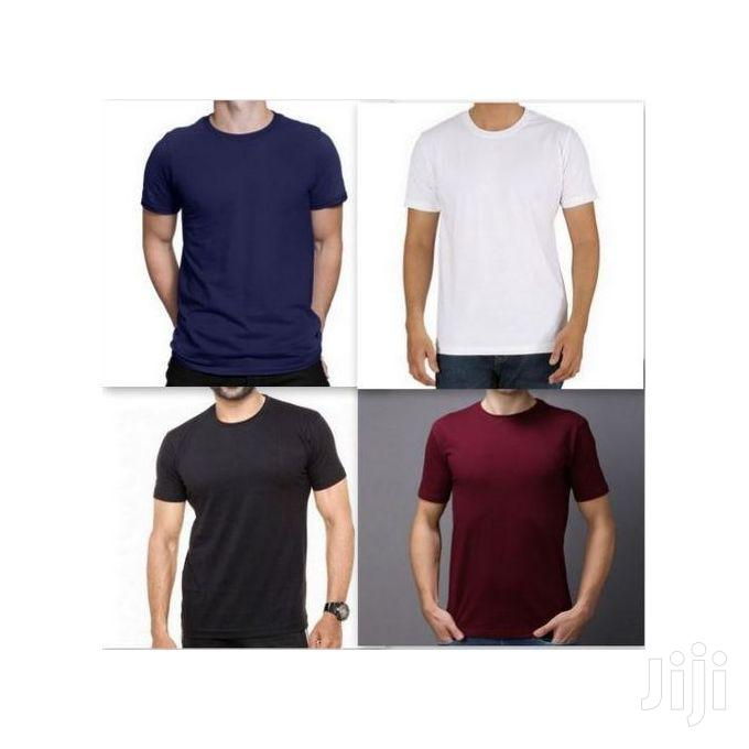 Archive: Pack of 4 Men's Cotton Round Neck T-Shirts