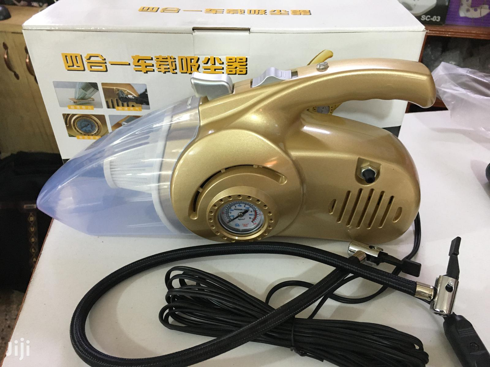 Electric Car Tyre Pump And Vacuum Cleaner | Vehicle Parts & Accessories for sale in Kampala, Central Region, Uganda