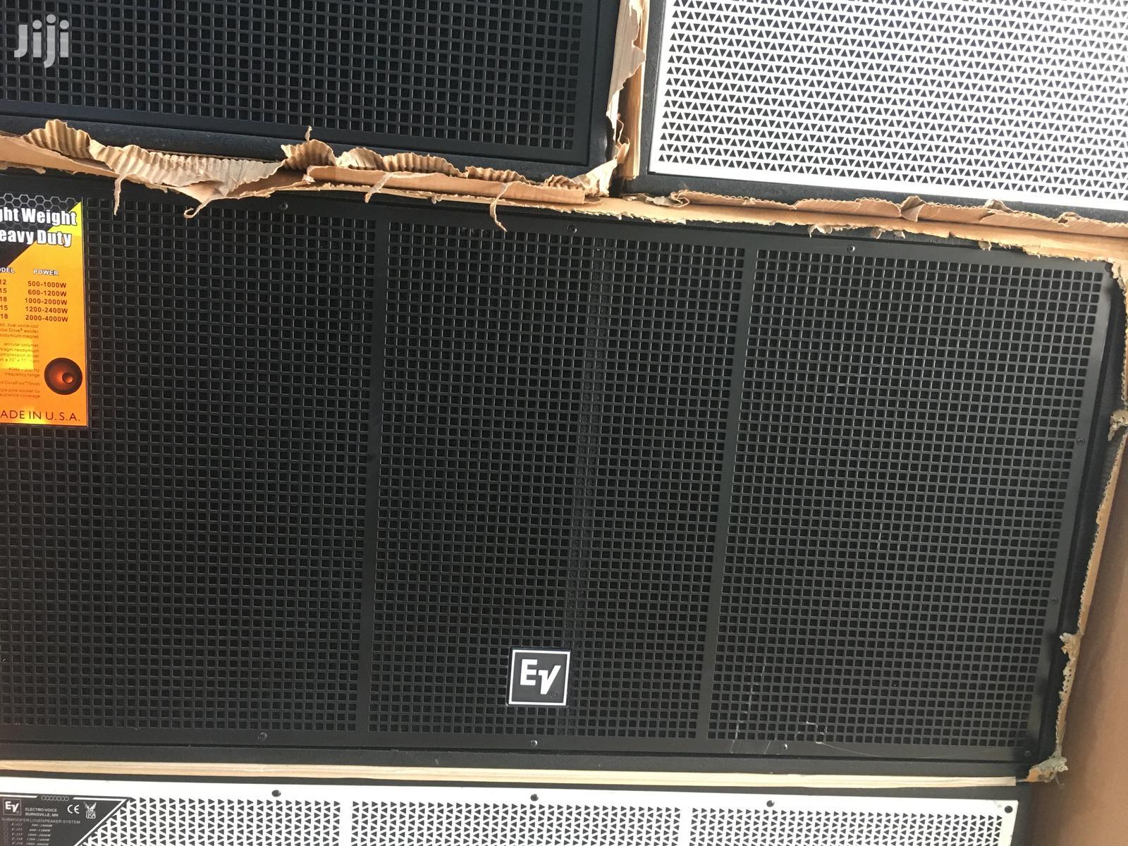 Double Bass Speakers Ev