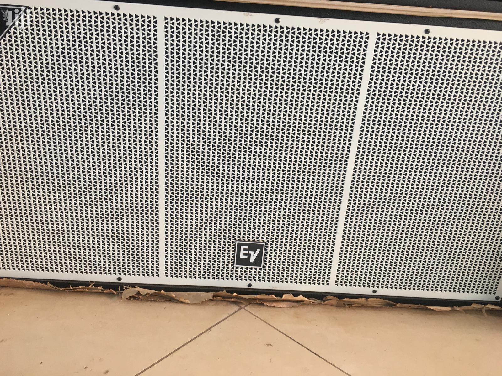 Double Bass Speakers Ev | Audio & Music Equipment for sale in Kampala, Central Region, Uganda