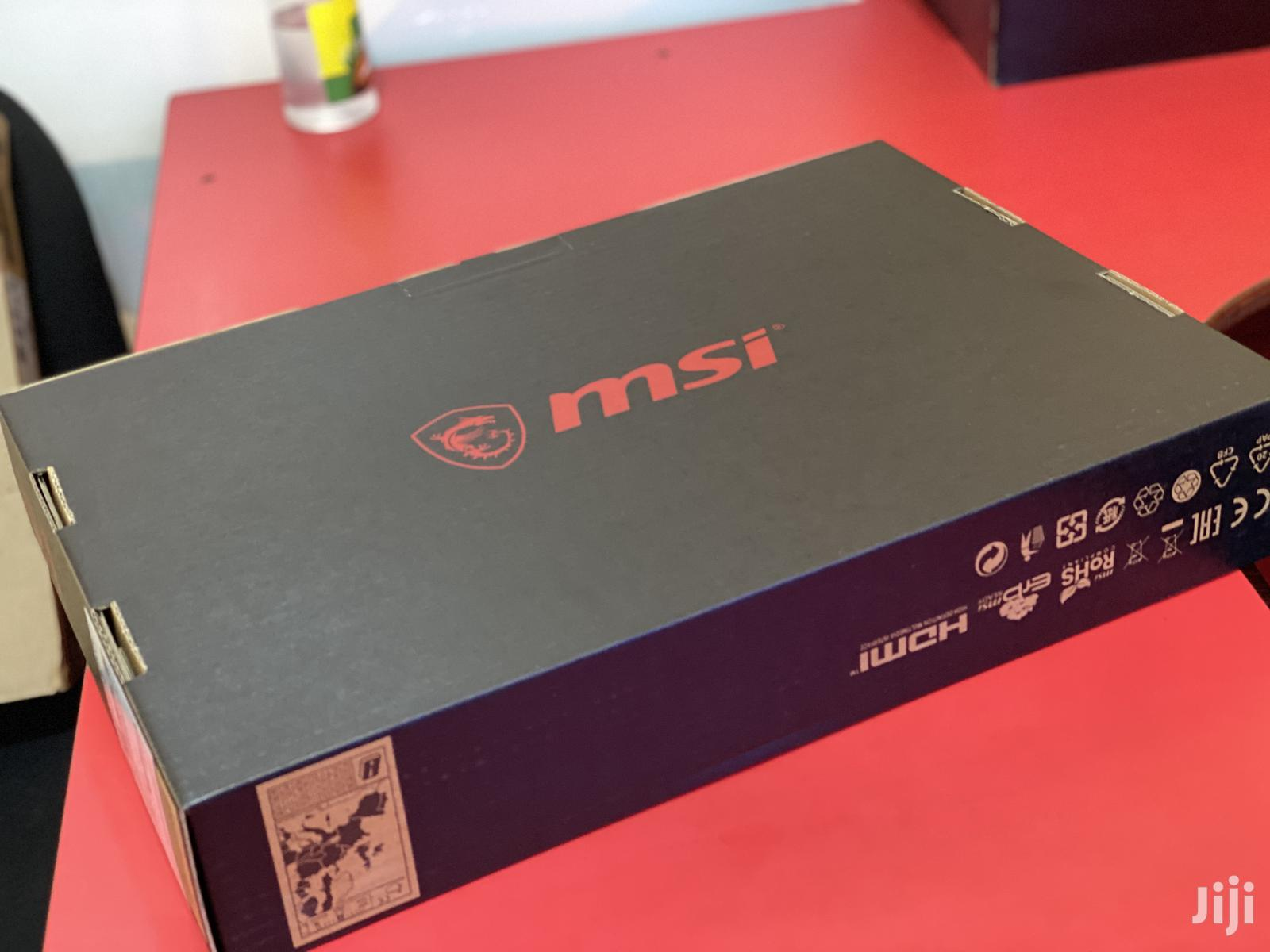 New Laptop MSI GF63 16GB Intel Core i7 SSHD (Hybrid) 512GB | Laptops & Computers for sale in Kampala, Central Region, Uganda