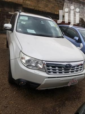 Subaru Forester 2011 White   Cars for sale in Central Region, Kampala