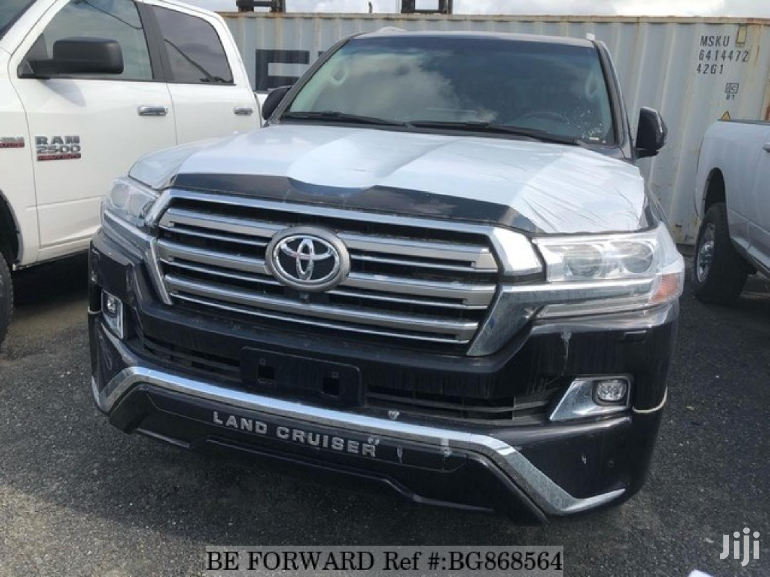 Archive: New Toyota Land Cruiser 2019 Black