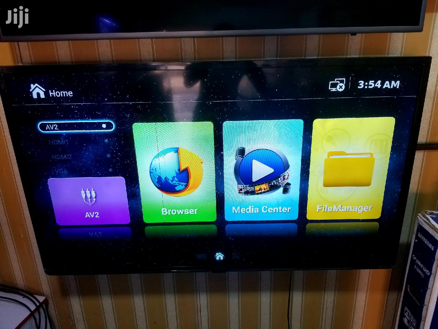 Nobel 55inches Smart Uhd 4k Android | TV & DVD Equipment for sale in Kampala, Central Region, Uganda