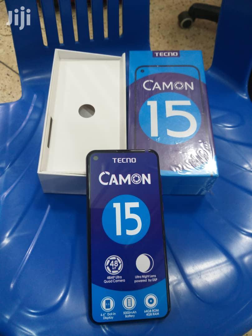 Archive: New Tecno Camon 15 64 GB Black
