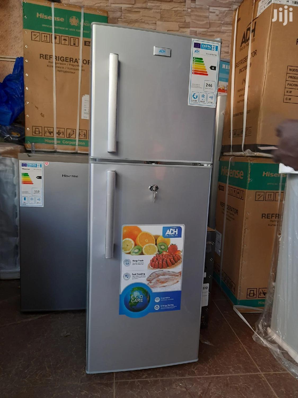 ADH Double Door Refrigerator 168L