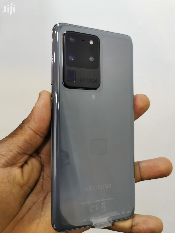 Samsung Galaxy S20 Ultra 128 GB Black   Mobile Phones for sale in Kampala, Central Region, Uganda