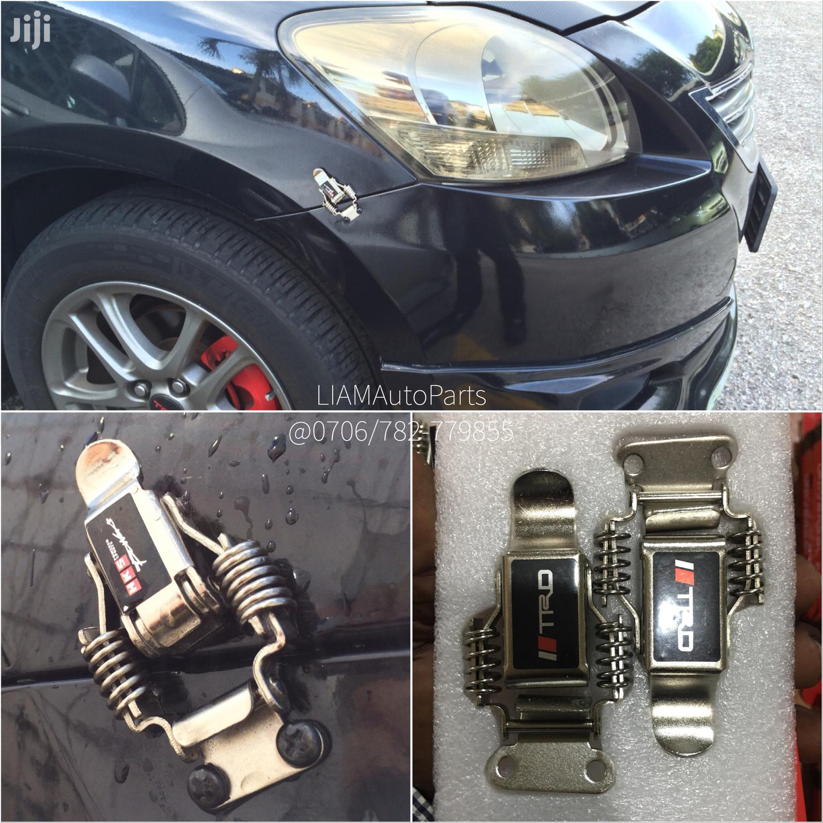 Premium Bumper Clips With Springs-big Size