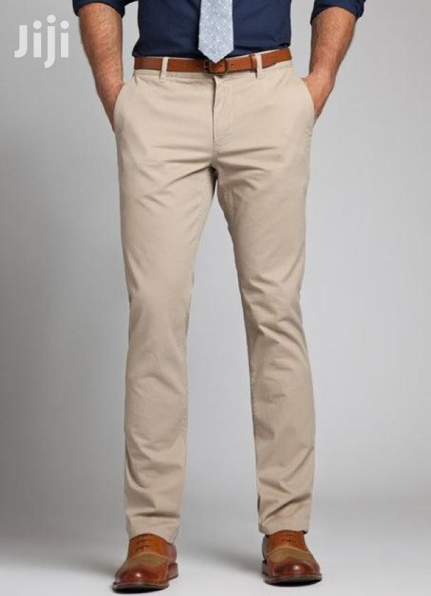 4 Pack of Men's Khaki Trousers(All Colors and Sizes)   Clothing for sale in Kampala, Central Region, Uganda
