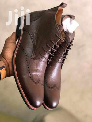 Men Leather Boot Shoes | Shoes for sale in Central Region, Kampala