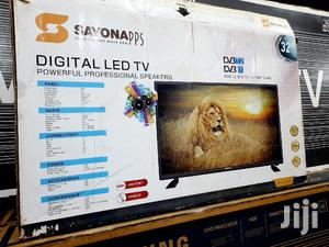 Sayonapps 32 Inch LED Digital Satellite Flat Screen TV   TV & DVD Equipment for sale in Central Region, Kampala
