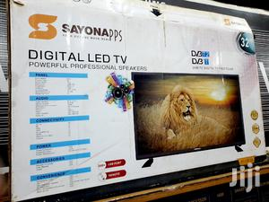 Sayonapps 32inch LED Digital Satellite Flat Screen TV   TV & DVD Equipment for sale in Central Region, Kampala