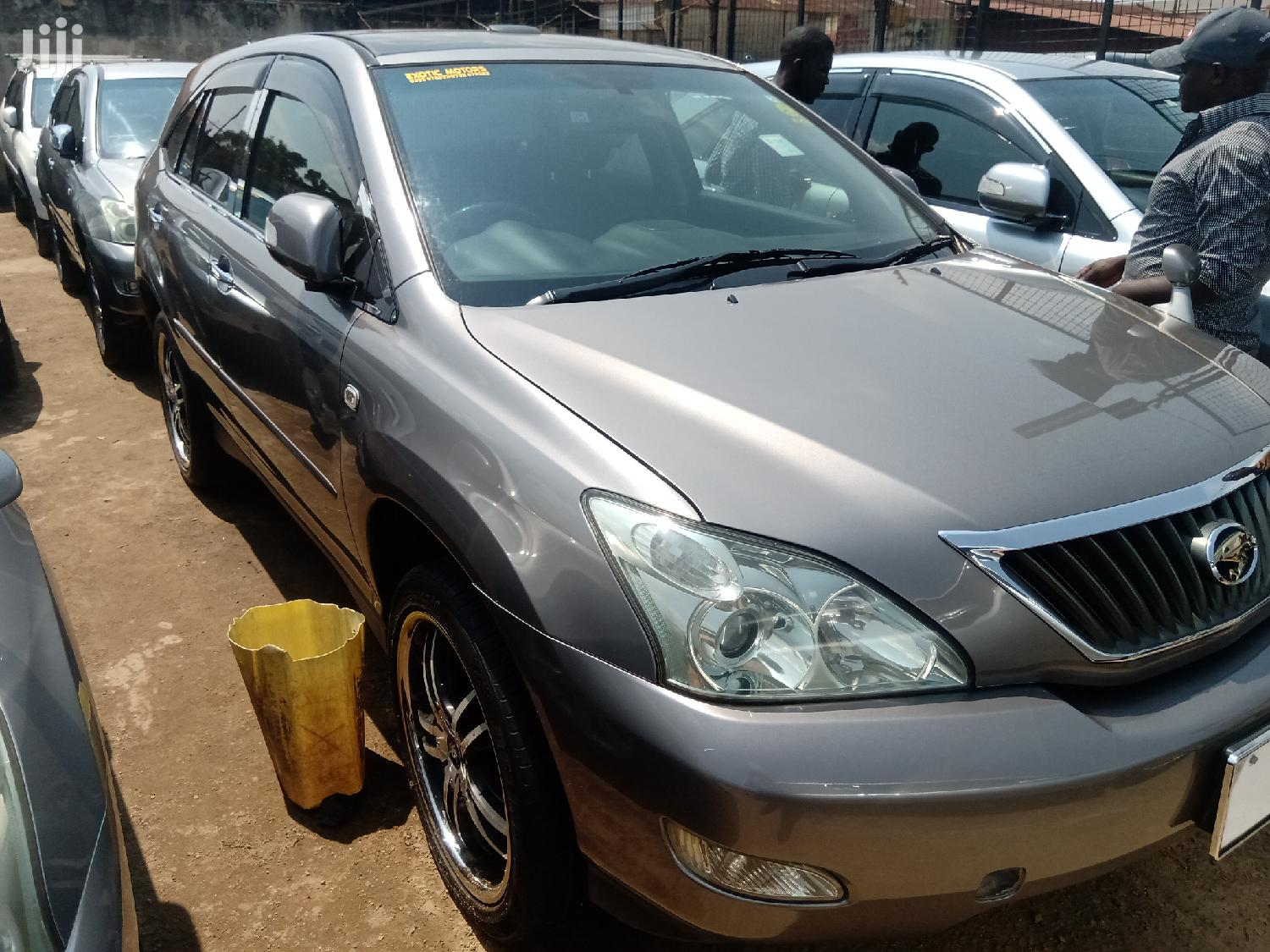 New Toyota Harrier 2008 Gray | Cars for sale in Kampala, Central Region, Uganda