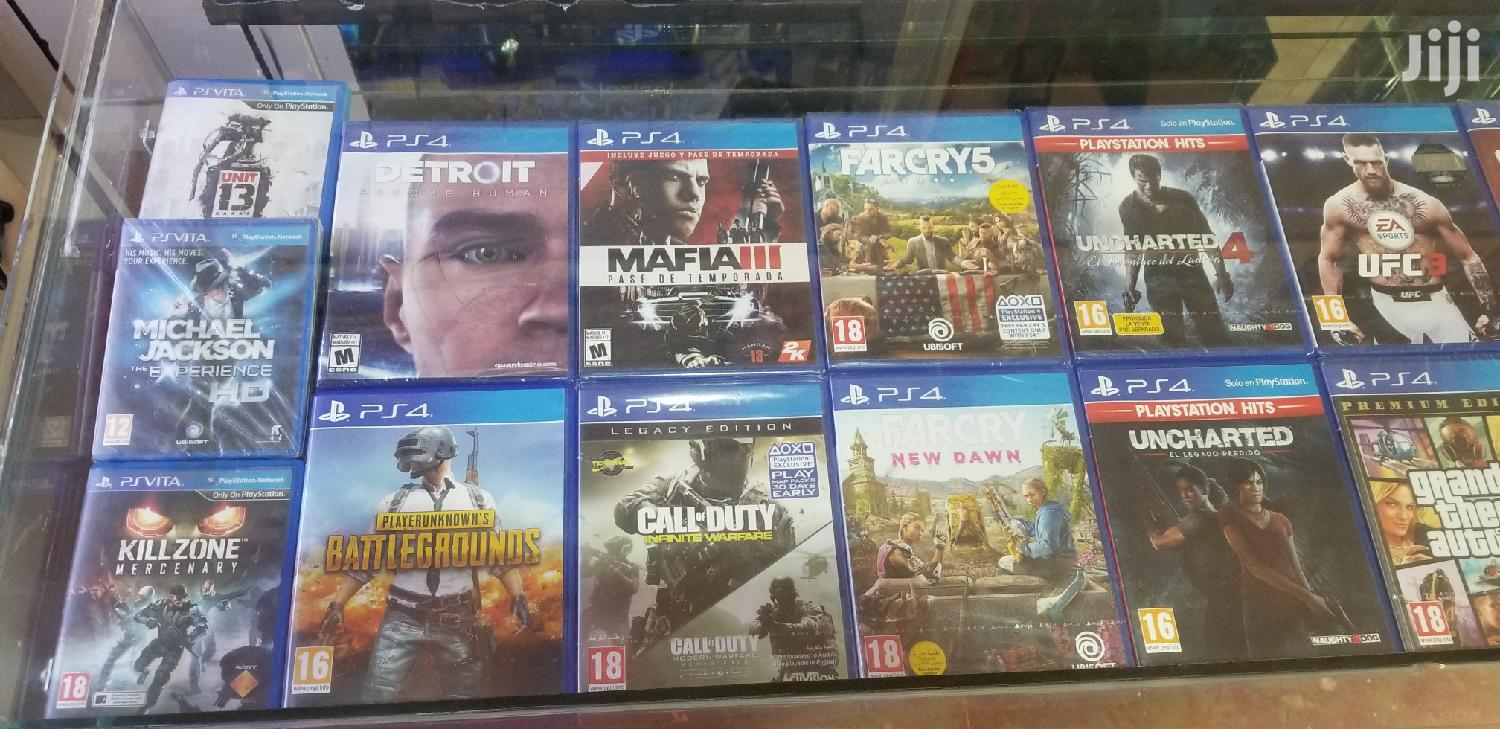 Playstation 4 Games | Video Games for sale in Kampala, Central Region, Uganda