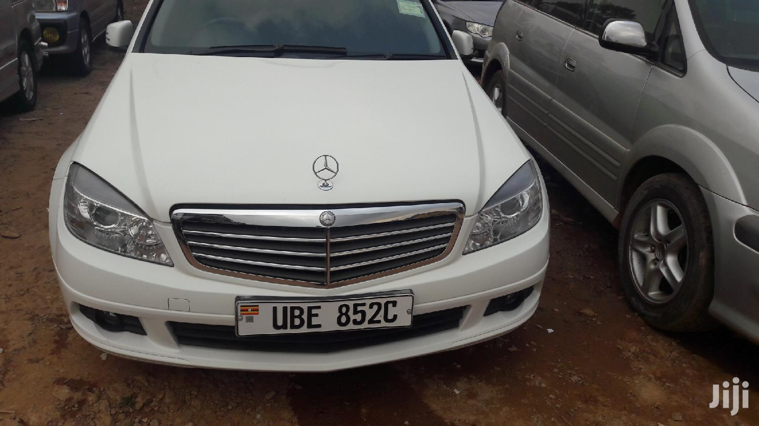 Mercedes-Benz C200 2008 White | Cars for sale in Kampala, Central Region, Uganda