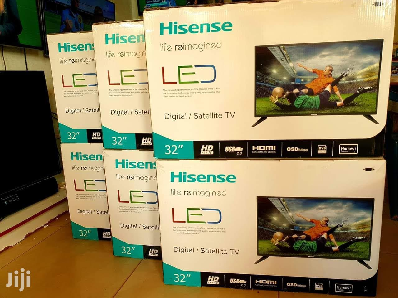 Archive: Brand New 32inches Hisense Digital and Satellite Flat Tv
