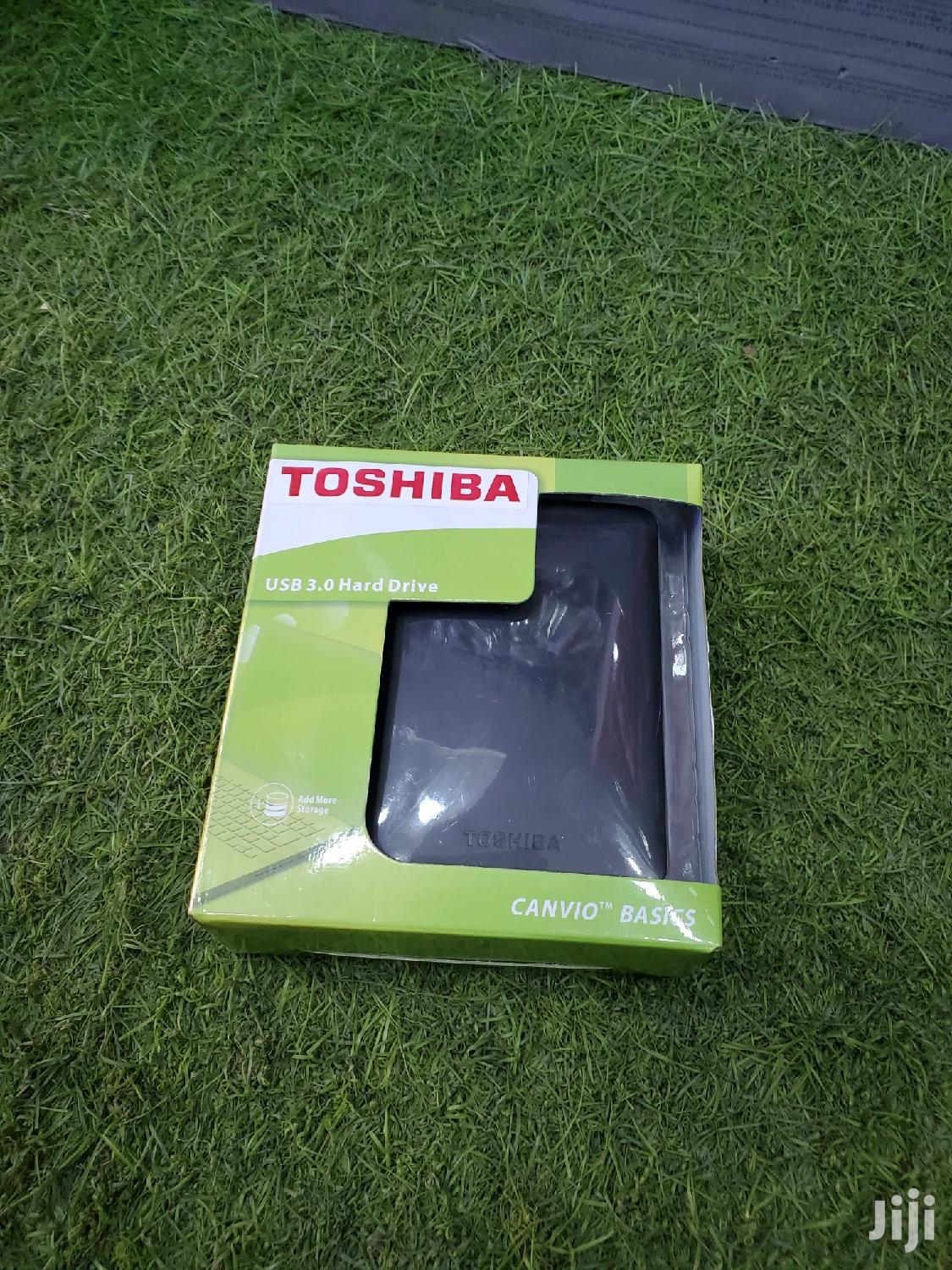 Archive: Toshiba External Hard Drive 500GB