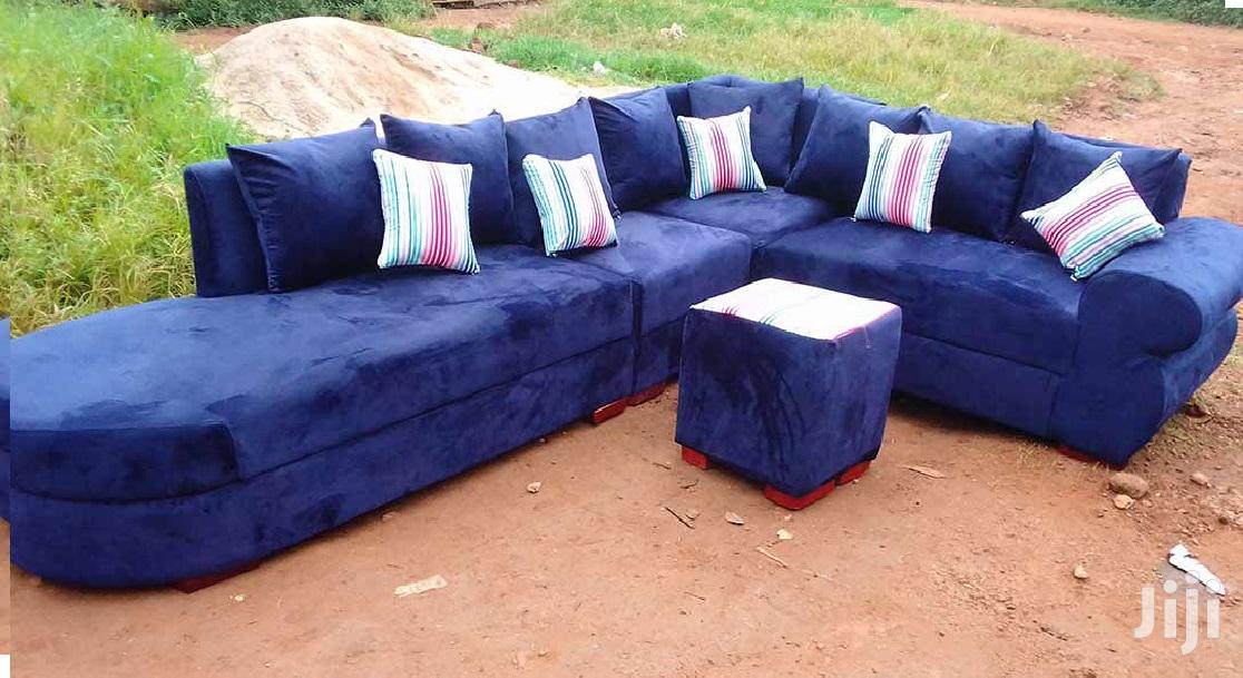 Archive: L Shaped Sofa Blue