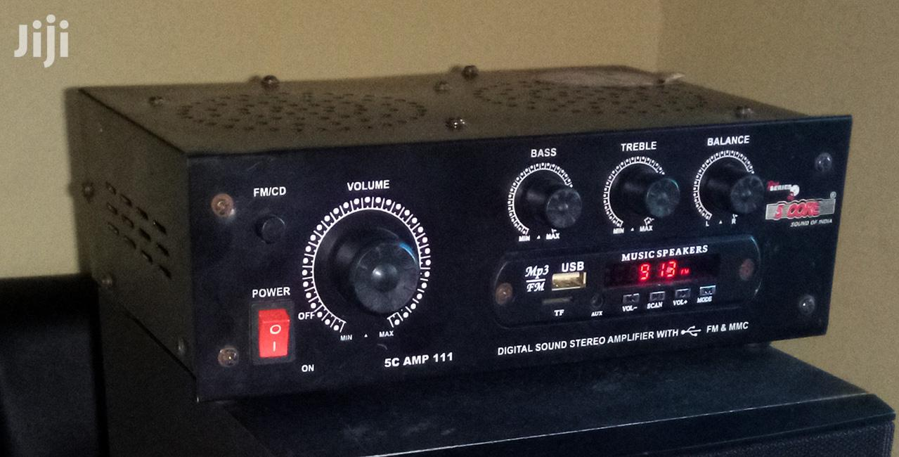 Digital Amplifier With Aux, Radio, Remote