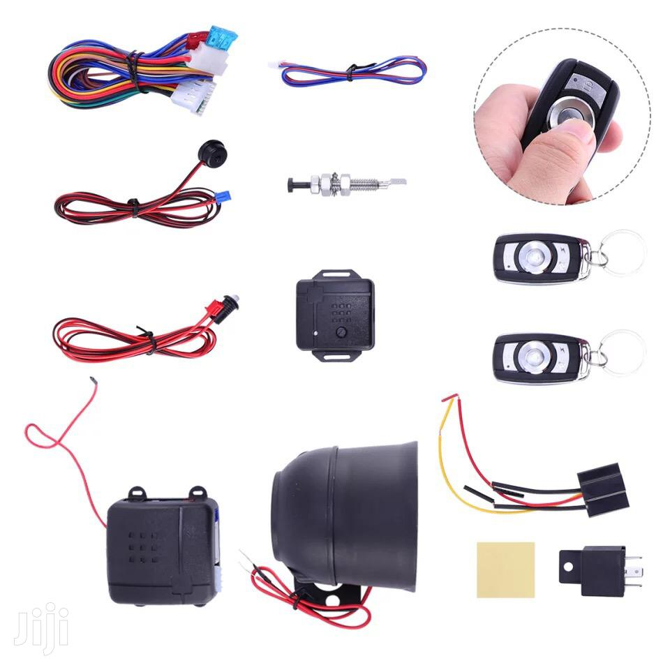 Universal Car Alarm System Set One-Way Security System