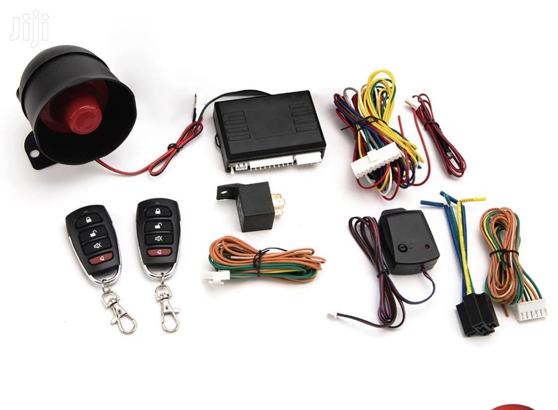 Car Alarm Vehicle System 1-Way Universal