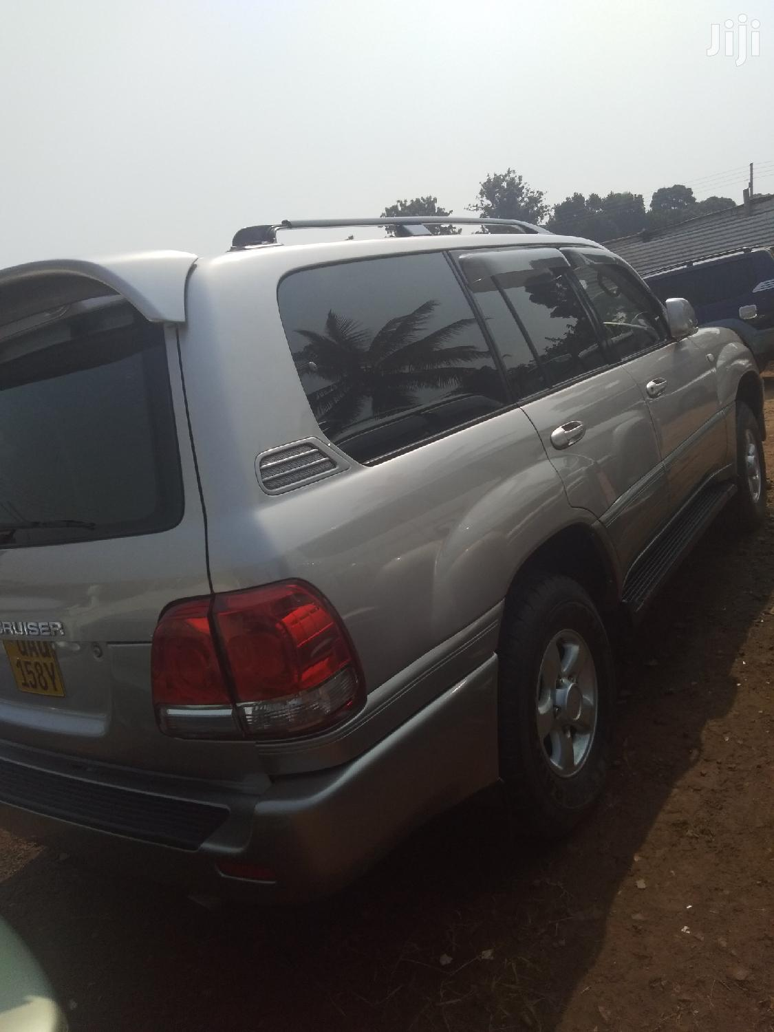 Archive: Toyota Land Cruiser 2002 Silver