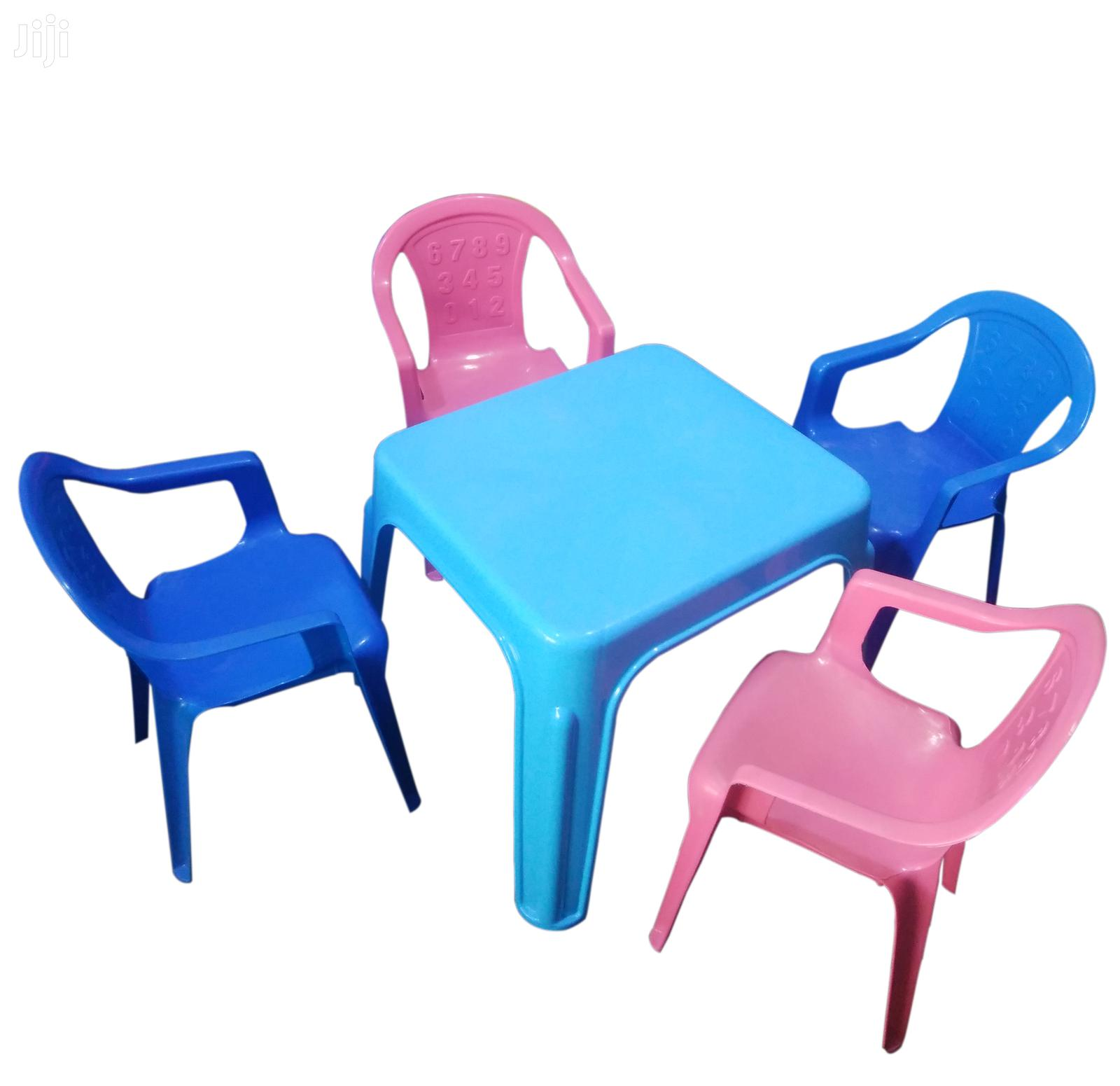 Archive: Kindergarten Table With 4 Chairs