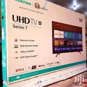 "Hisense 55"" Smart 4k   TV & DVD Equipment for sale in Central Region, Kampala"