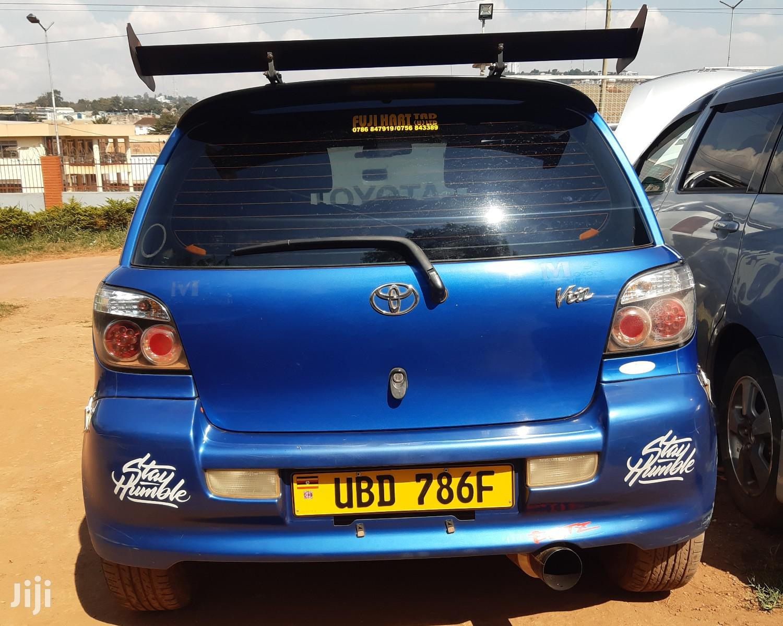 Archive: Toyota Vitz 1.5 RS 2005 Blue