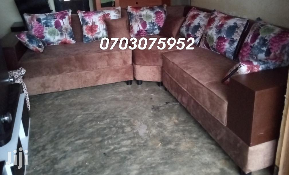 Archive: 7 Seater L Sofa Set