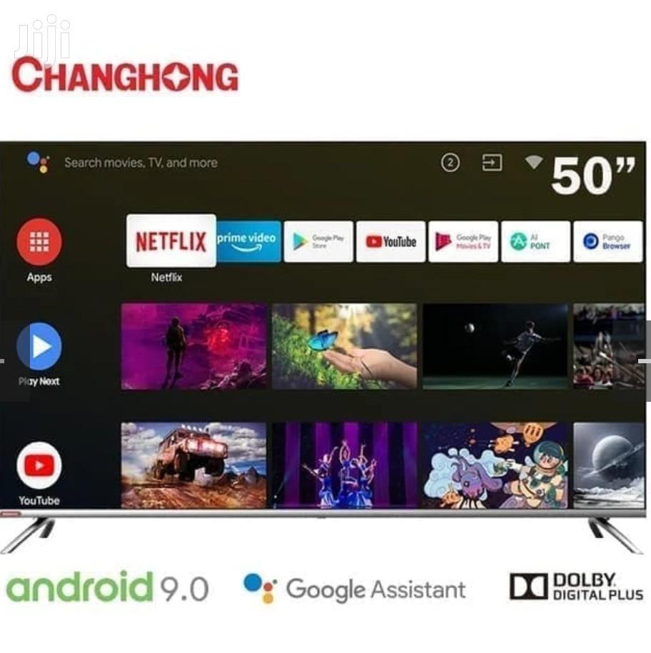"Changhong 50"" Smart Android 9.0 LED 4K Uhd TV - X-Mass Offer"
