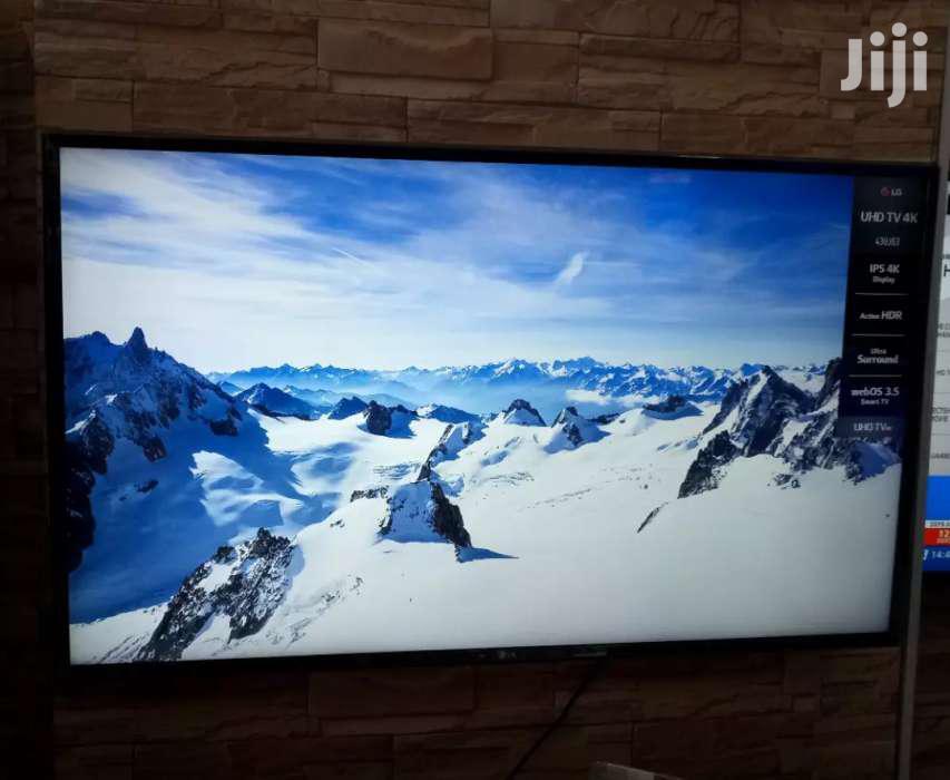 LG Led Smart UHD 4k Digital Satellite TV 43 Inches | TV & DVD Equipment for sale in Kampala, Central Region, Uganda