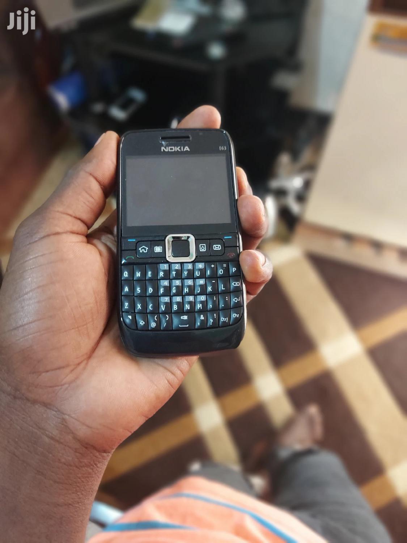 New Nokia E63 Black