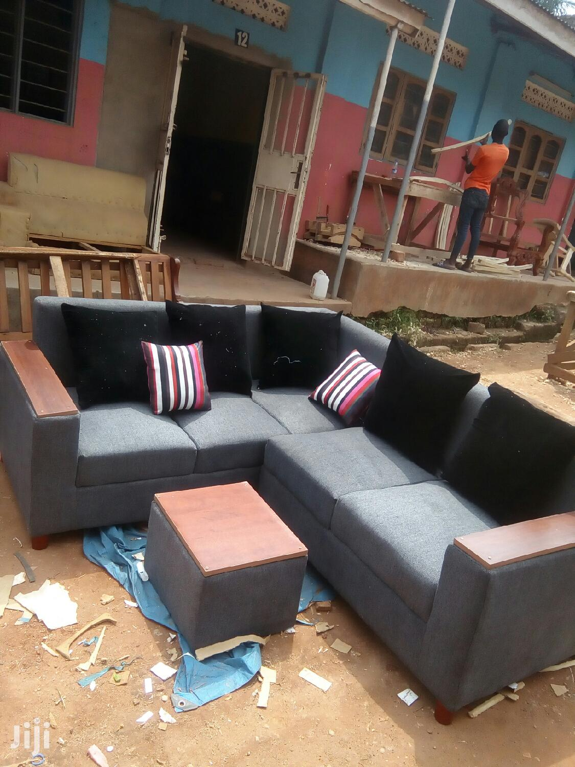Archive: Six Seater L Shaped Sofa