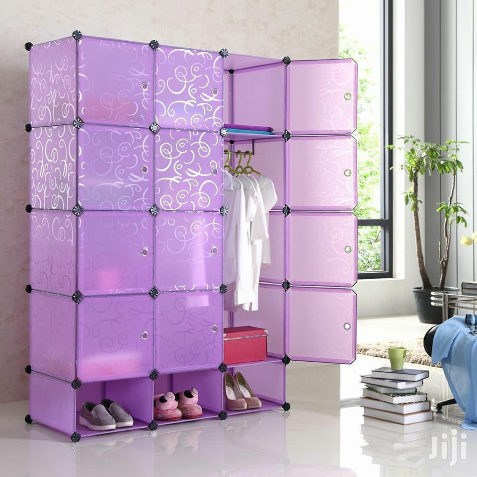 Plastic Wardrobe | Furniture for sale in Kampala, Central Region, Uganda