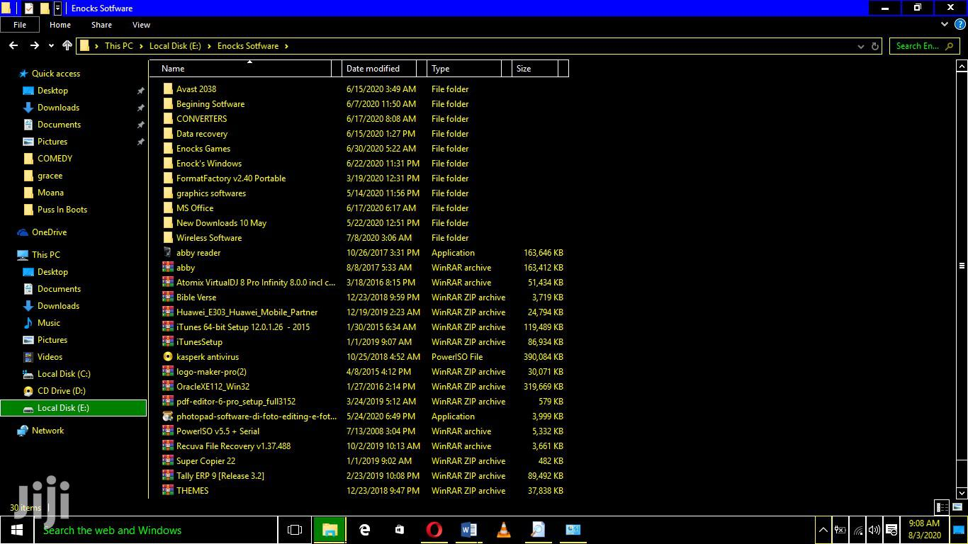 Archive: Games And Windows Installation