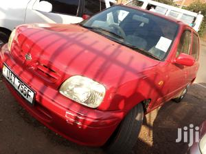 Nissan March 2000 Red