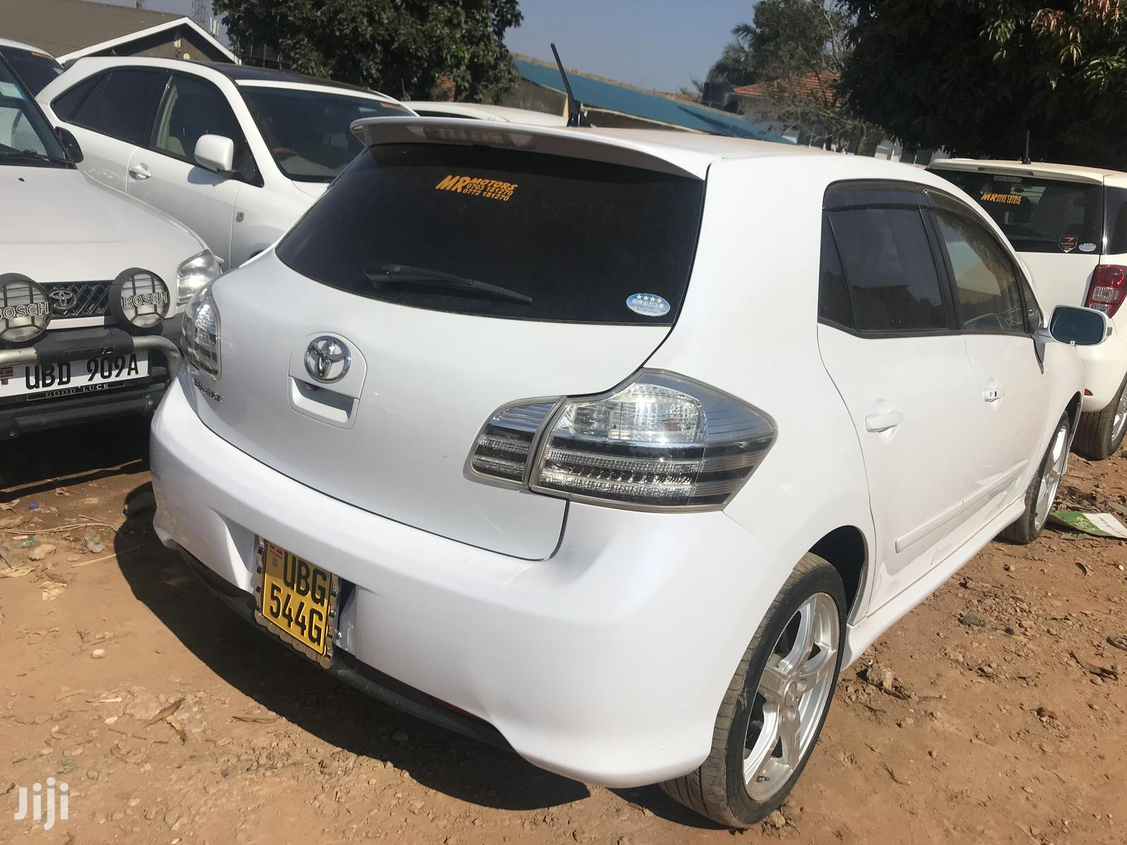Archive: New Toyota Blade 2007 White