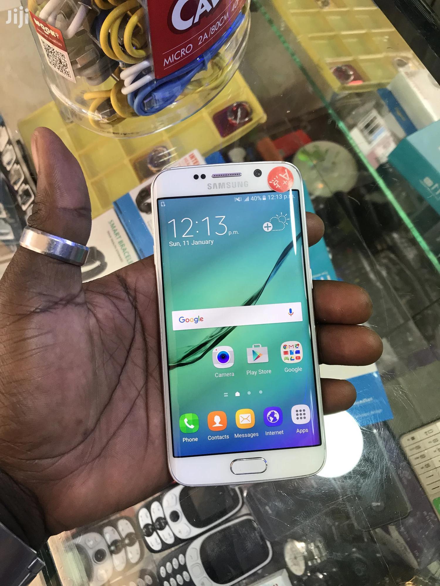 Samsung Galaxy S6 edge 64 GB White