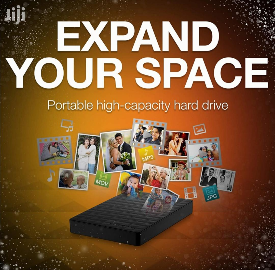 Seagate Expansion Portable 1TB 3.0 External Hard Drive | Computer Hardware for sale in Kampala, Central Region, Uganda